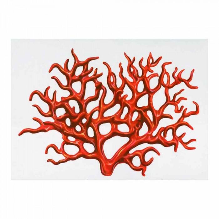 Corallo Quadro Moderno Macri segni creativi
