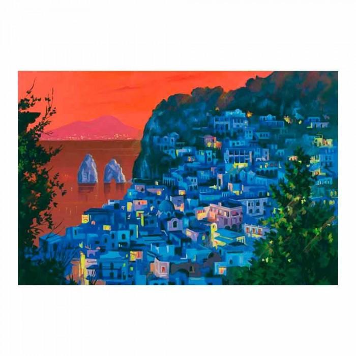 Fantasia di Capri Quadro Moderno Macri segni creativi