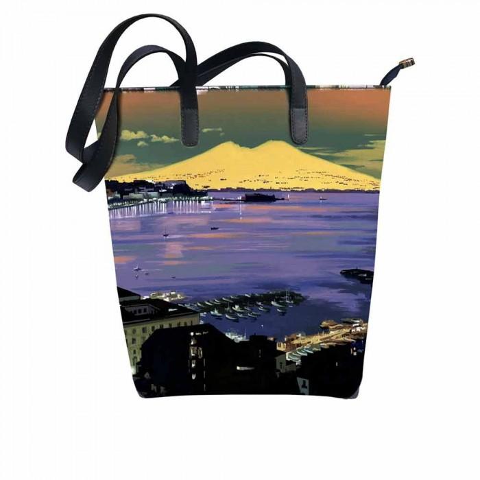 Shopping Bag Aurora Notturno Cromatico