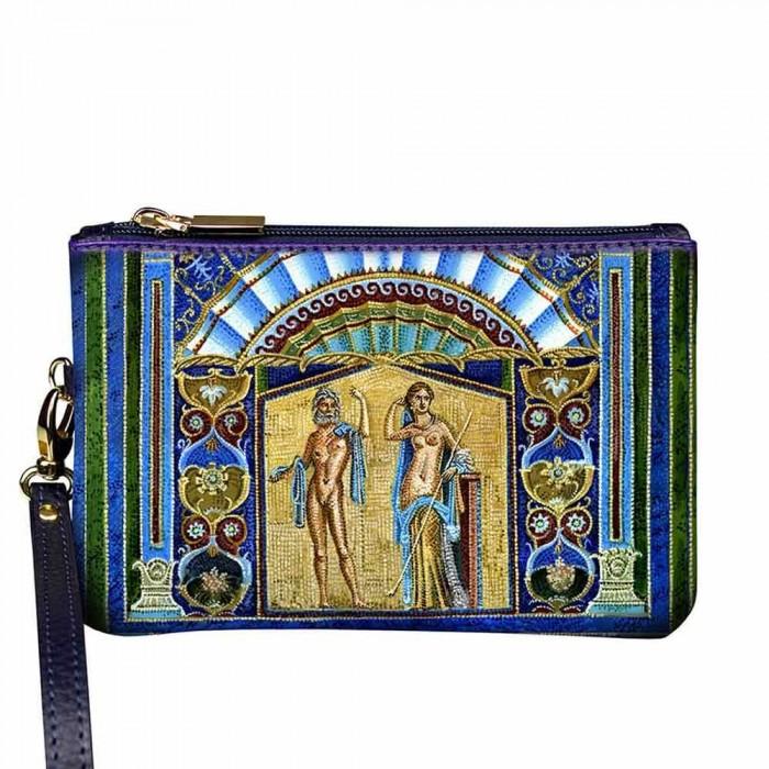 Pochette Donna Gaia Mosaico in pelle